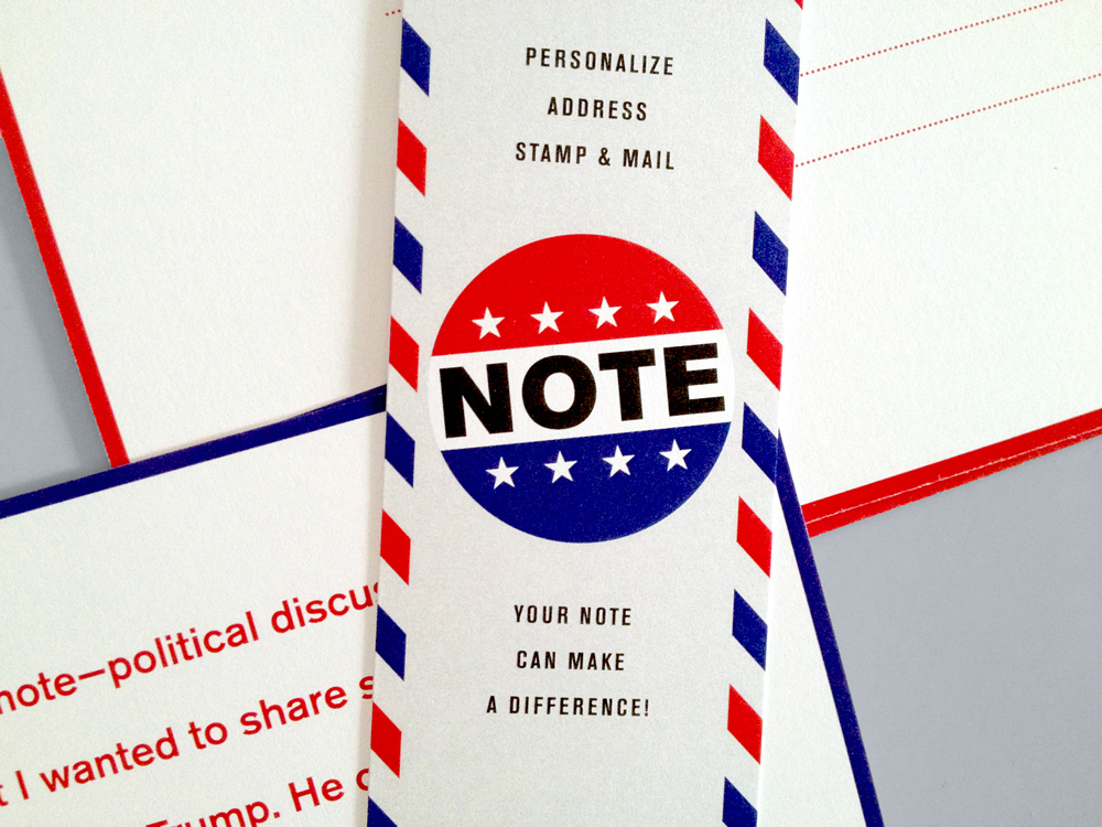 vote postcards